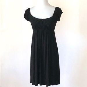 Lush Black Jersey Dress